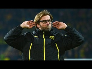 Dortmund fans asked Klopp in or Klopp out after Arsenal defeat