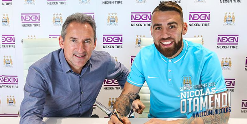 Twitter reacts to Man City signing Nicholas Otamendi